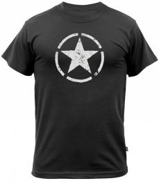 Tričko ALPHA INDUSTRIES STAR černá