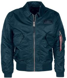 Bunda ALPHA INDUSTRIES CWU LW PM repl.blue