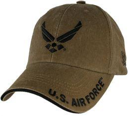 Čepice U.S. AIR FORCE coyote