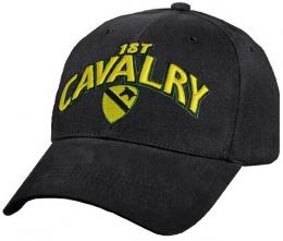 Čepice 1ST CAVALRY 3D LOGO černá