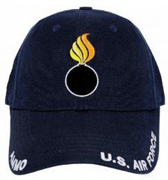 Čepice U.S. AIR FORCE AMMO tm.modrá