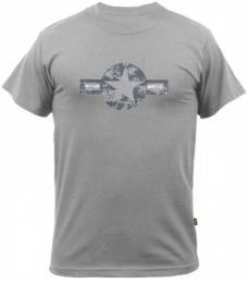 Tričko ALPHA INDUSTRIES USAF šedá