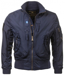 Bunda ALPHA INDUSTRIES PROP repl.blue