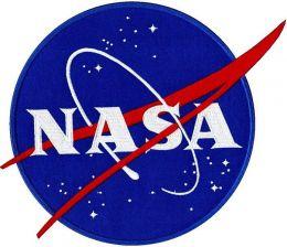 Nášivka NASA barevná
