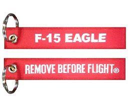 Přívěsek F-15 EAGLE RBF červená