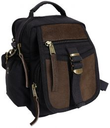 Taška ROTHCO® TRAVEL BAG černá&hnědá kůže
