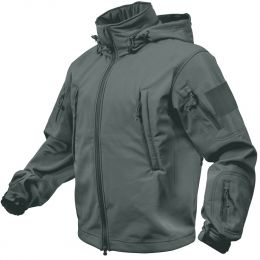 Bunda ROTHCO® TACTICAL SOFT SHELL gunmetal šedá