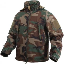 Bunda ROTHCO® TACTICAL SOFT SHELL woodland camo
