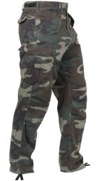 Kalhoty ROTHCO® VINTAGE M-65 woodland camo