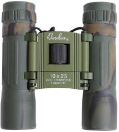 Dalekohled ROTHCO® BINOLUX 10x25 woodland camo