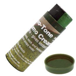 Maskovací barvy BUSHCRAFT černá & zelená 30g