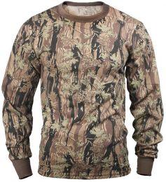 Tričko ROTHCO® dlouhý rukáv smokey branch camo