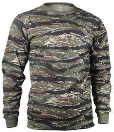 Tričko ROTHCO® dlouhý rukáv tiger stripe camo