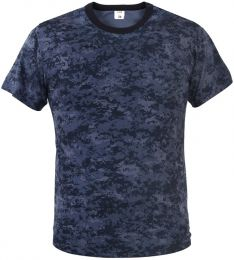 Tričko ARMY digital midnight blue camo