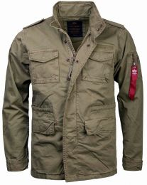 Bunda ALPHA INDUSTRIES HUNTINGTON oliva