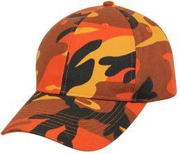 Čepice ROTHCO® savage orange camo