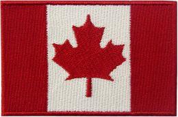 Nášivka vlajka CANADA barevná