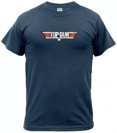Tričko TOP GUN navy