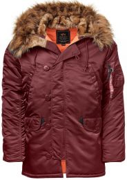 Bunda ALPHA INDUSTRIES N-3B VF 59 maroon