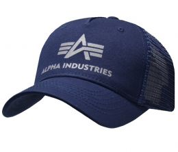 Čepice ALPHA INDUSTRIES BASIC TRUCKER CAP repl.blue