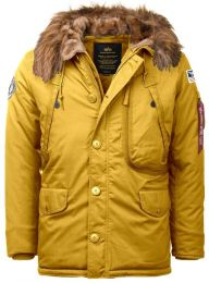 Bunda ALPHA INDUSTRIES POLAR wheat