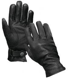 Rukavice zimní COMMANDO ARMY kůže černá