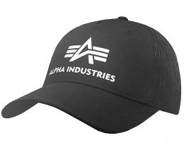 Čepice ALPHA INDUSTRIES BASIC TRUCKER CAP černá