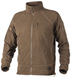 Mikina HELIKON-TEX® ALPHA TACTICAL FLEECE coyote