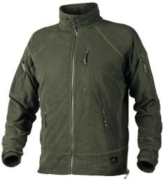 Mikina HELIKON-TEX® ALPHA TACTICAL FLEECE zelená