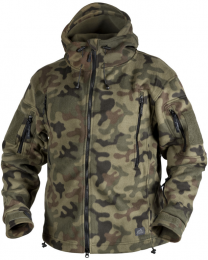Bunda HELIKON-TEX® PATRIOT FLEECE PL woodland