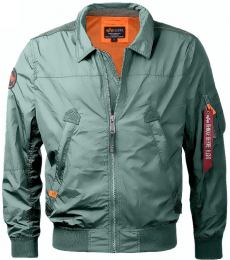 Bunda ALPHA INDUSTRIES NIGHTHAWK vintage green