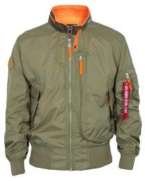 Bunda ALPHA INDUSTRIES WING oliva