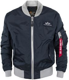 Bunda ALPHA INDUSTRIES MA-1 TTC repl.blue
