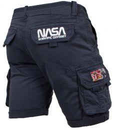 Kraťasy ALPHA INDUSTRIES NASA repl.blue