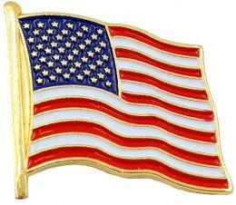 Odznak VLAJKA U.S.A. vlající