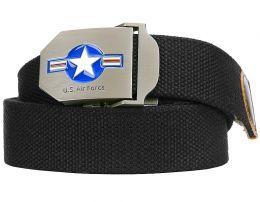 Opasek 101INC® USAF 3,5cm černá