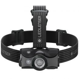 Svítilna čelová LED LENSER® MH7 šedá