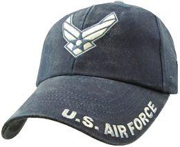 Čepice U.S. AIR FORCE modrá