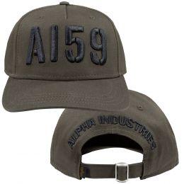 Čepice ALPHA INDUSTRIES 3D CAP army zelená