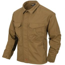 Košile HELIKON-TEX® WOODSMAN SHIRT coyote & taiga green
