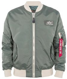 Bunda ALPHA INDUSTRIES MA-1 TTC vintage green