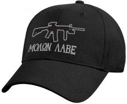 Čepice ROTHCO® DELUXE MOLON LABE černá