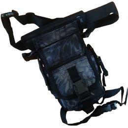 Taška na stehno HIP BAG snake black