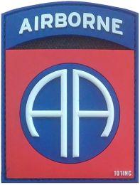 Nášivka 82ND AIRBORNE velcro plast