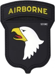 Nášivka 101ST AIRBORNE velcro plast