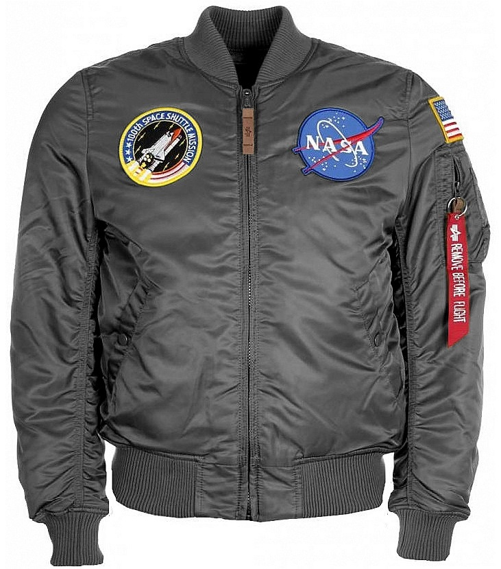 ee6a02998 Bunda ALPHA INDUSTRIES MA-1 VF NASA černá   https://www.army-rubicon.cz/